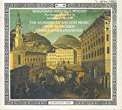 Wolfgang Amadeus Mozart: The Symphonies Vol. III, Salzburg 1772-1773 - The Academy of Ancient Music / Christopher Hogwood by L` Oiseau-Lyre
