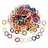 200 Stück Baby Haargummis, Mini Haarbänder Elastische Haarbänder, Elastisch Haargummi Haarschmuck für Kleinkind Baby Kinder