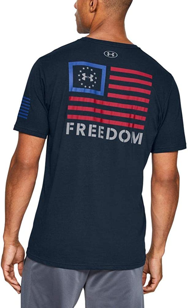Under Armour Men's Freedom Banner Sale special price Max 80% OFF T-shirt Sleeve Short