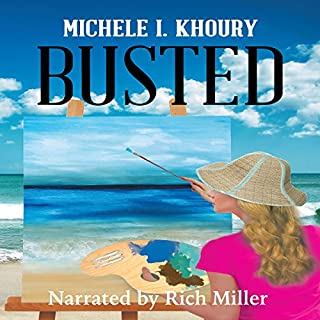Busted audiobook cover art