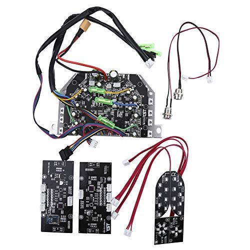 Nikou Placa de Circuito de Control de la Placa Base Bluetooth 6.5/8 / 10inch Ágil Ligero para Self Balance Smart Scooter Hover-Board