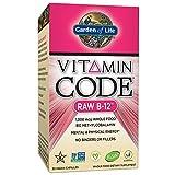 Garden of Life Vitamin B12 - Vitamin Code Raw B12 Whole Food...
