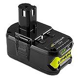 <span class='highlight'><span class='highlight'>Boetpcr</span></span> 18V 5.0Ah Replacement for Ryobi Battery One  RB18L50 RB18L40 RB18L25 RB18L15 RB18L13 P108 P107 P122 P104 P105 P102 P103 with LED Charge Indicator