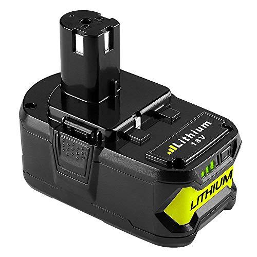 18V 5.0Ah Batería de Reemplazo para Ryobi 18V One+ P108 P104 P105 P102 P107 RB18L25 RB18L13 RB18L50 RB18L40 para Ryobi 18V Batería