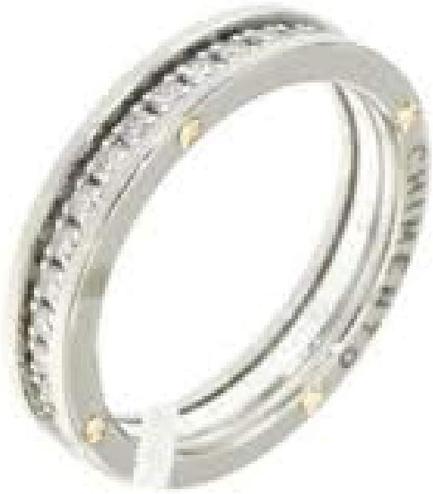 Chimento,anello per uomo in oro bianco 18k (5gr)con incastonati diamanti taglio brillante per ct 0,63 1A07805BB5150-15