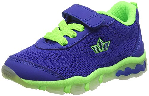 Lico LIGHTBALL VS BLINKY Multisport Indoor Schuhe Jungen, Blau/ Lemon, 31 EU