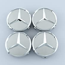 YiHee 4Pcs Wheel Center Hub Caps for Mercedes Benz 2.95