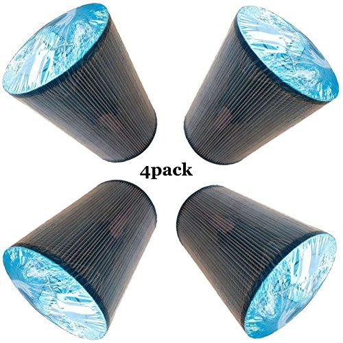 MYY Filtre pour Spa Bassin Couverture La Natation Pagayer Filtration Filtre Cartouches,Bleu(4Pack)