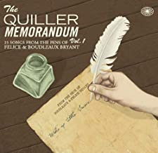 The Quiller Memorandum Vol. 1 - Felice & Boudleaux Bryant by Various Artists by Various Artists (2011-08-03)
