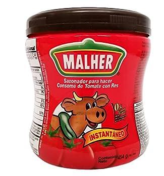 Malher Tomato Beef Bouillon 16 oz - Consome De Tomate Y Res
