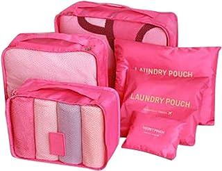 Housekeeping Organizers,Housekeeping Supplies,Waterproof Clothing Underwear Shoes Storage Bag Luggage Bag Travel Bag Six-Piece Waterproof Travel Bag