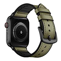"What You Get: 1 x Compatible with iWatch Band (fit for 42mm and 44mm, No Watch included). Fit Wrist Size: Fits 6.5""-8.8"" (165mm-225mm) wrists. Compatible with Apple Watch 42mm 44mm ALL Models, including: Series 6 / Series 5 / Series 4 / Series 3 / Se..."
