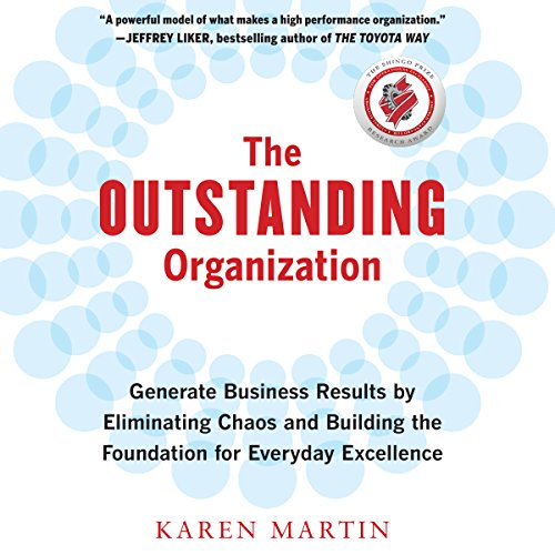 The Outstanding Organization audiobook cover art