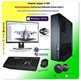 Not Without IT: Multipurpose Business Computer Bundle| Intel 9th CPU | i5-9600K 3.7 GHz | 16GB DDR4| 512 GB SAMSUNG M.2 hard drive | 2K display | GIGABYTE Radeon 4GB | Windows 10 Pro | Small case!