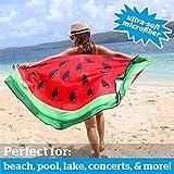 BigMouth Inc. – Anguria Cocomero Telo Mare Gigante Spiaggia - Asciugamano Coperta XXL Ro...