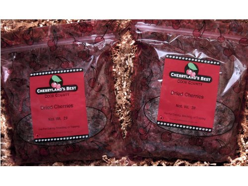 Door County Dried Cherries  Two 2lb Packages