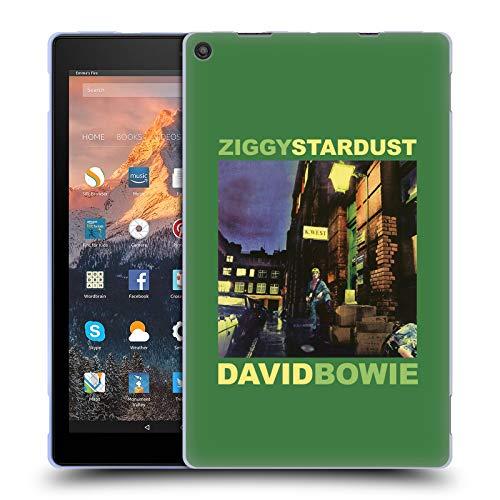 Head Case Designs Ufficiale David Bowie Ziggy Stardust Arte Album Cover in Morbido Gel Compatibile con Amazon Fire HD 10 (2017)