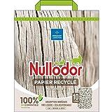 Animalerie NULLODOR - Litière Chat Papier Recyclé 10L - Lot De 2