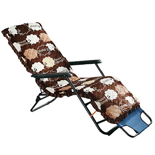 1-Stück Gartenstuhl Auflage, Hochlehner Auflage, Premium Sitzauflage, für die meisten Liegestühle, Schaukelstühle, Gartenstühle, 59.06 X 20.47X 1.97in