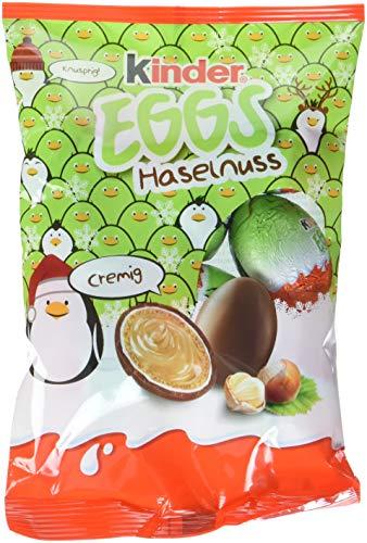 kinder Eggs Haselnuss Weihnachten, 9er Pack (9 x 80 g)