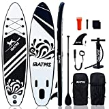 IBATMS-Tabla de SUP 10'5 'x31.5 'x6 'Tabla de Stand Up Paddle inflable con accesorios de...