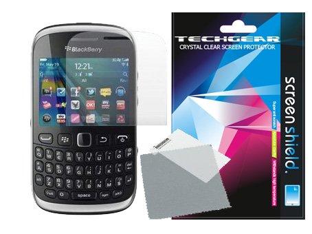 **PACK OF 2** - BLACKBERRY CURVE 9320 onzichtbaar scherm Protector met reinigingsdoek - Hi-TEC ESSENTIALS