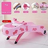CIVDW Safety 1st Badesitz, ergonomischer Sitz für die Badewanne nutzbar ab ca. 6 Monaten bis max. 10 kg, Cotoons Baby-Badesitz,pink-1,Null