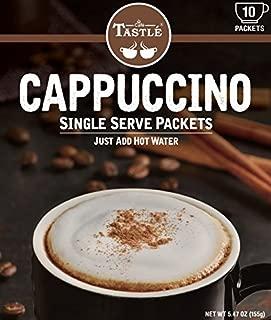 Cafe Tastlé Single Serve Coffee, Cappuccino, 20 Count