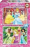 Disney Princesas Puzzle, Color (Educa Borrás 16851)