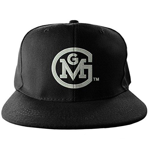 Gas Monkey Garage Baseball Cap GMG Round Logo Nue offiziell Schwarz Snapback