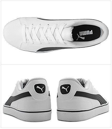 (プーマ)PUMAスニーカーコートポイントVULCV2362946メンズ01.プーマホワイト×ブラック27cm
