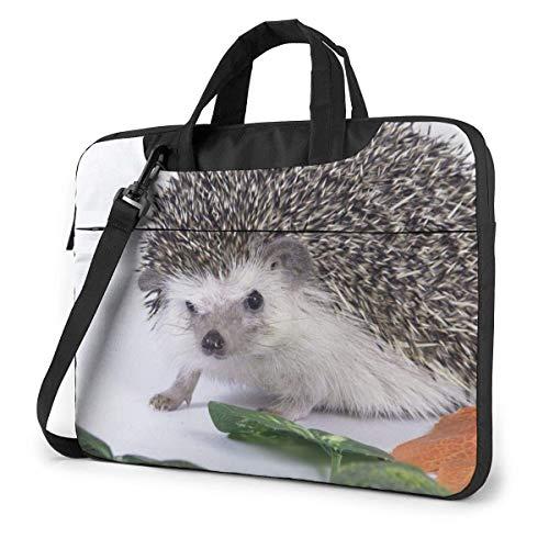 Bolsa de hombro para portátil de 35,5 cm, bolsa protectora de erizo