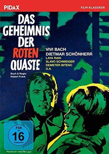 Das Geheimnis der roten Quaste / Wendungsreicher Kriminalfilm mit Starbesetzung (Pidax Film-Klassiker)