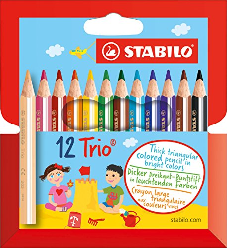 Stabilo -  Dreikant-Buntstift -