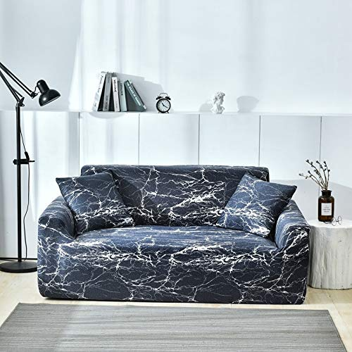 Funda de sofá Spandex para Sala de Estar Material elástico sofá de Dos plazas sofá de Dos plazas Fundas de sofá Fundas de sofá A19 1 Plaza