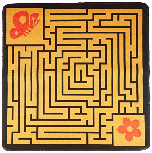 House of Kids 12111-e3 spel labyrinth polyester meerkleurig 100 x 0,5 x 100 cm