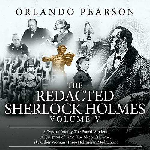 Couverture de The Redacted Sherlock Holmes, Volume V