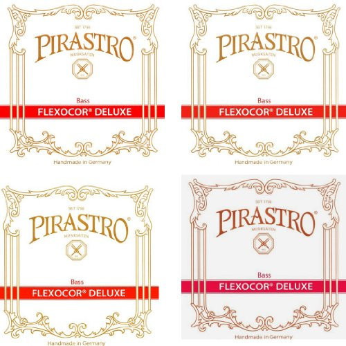 Pirastro FLEXOCOR DELUXE コントラバス弦セット