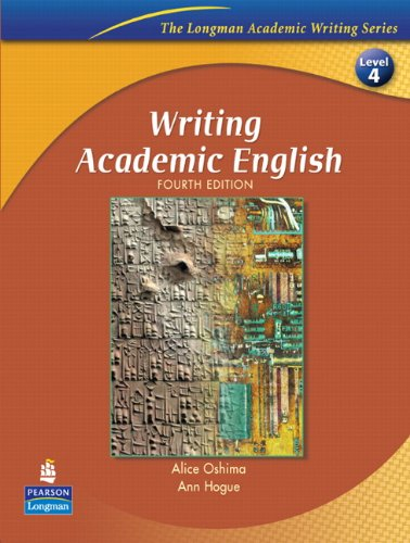 WRITING ACADEMIC ENGLISH (4E) : STUDENT BOOK (ACADEMIC WRITING SEREIS)の詳細を見る