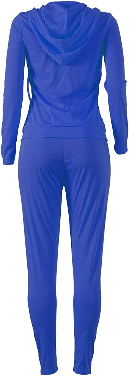 Solid Fitness Stretchy Rompers Womens Two Piece Sets