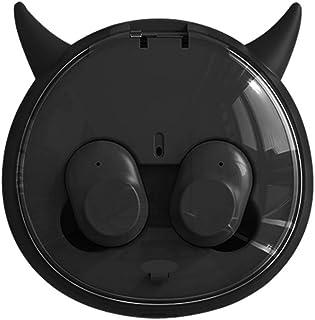 Wireless Bluetooth Sports Headset, Bluetooth 5.0, HIFI Sound Quality, IPX6 Waterproof, Cartoon,Black