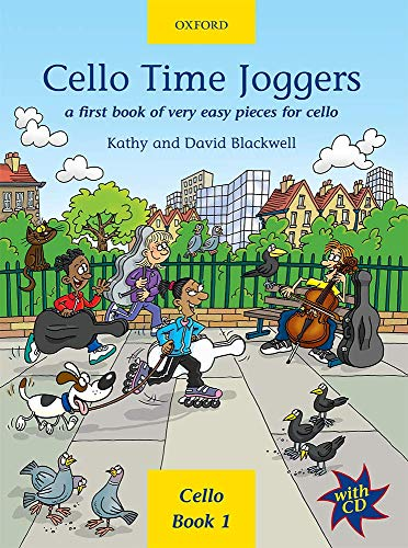 Cello Time Joggers, w. Audio-CD: A first book of very easy pieces for cello