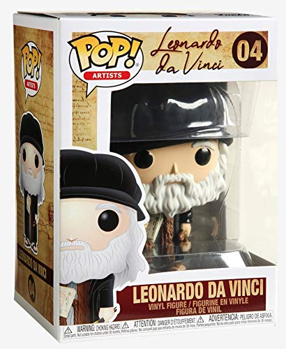 Funko Pop! Artists: Leonardo Davinci