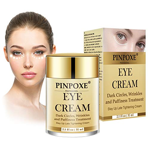 Eye cream, Dark circles cream, Wrinkle eye cream, anti-aging eye wrinkle cream, 24K Gold Repairing Eye Cream, Puffiness & Crows Feet - Reduces Wrinkles, Bags, Saggy Skin & Puffy Eyes!