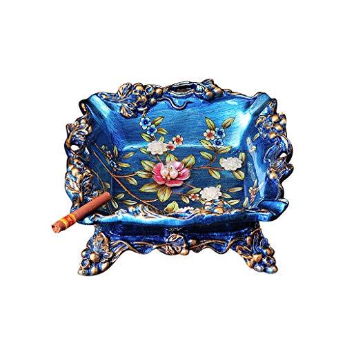 Résine Européenne Cendrier Creative Comptoir Table Basse Fumoir Quartet Coupe-Vent Américain Salon Décoration de La Maison Ornements