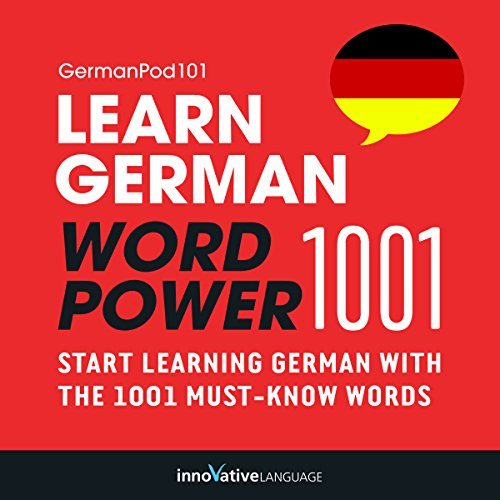 Learn German: Word Power 1001 audiobook cover art