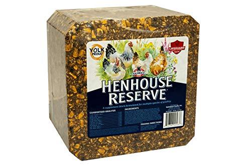Henhouse Reserve Supplement Treat Block for Chickens, 20 lb