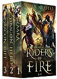 Riders of Fire Books 1-3: Ezaara, Dragon Hero, Dragon Rift (Riders of Fire Box Set Book 1) (English Edition)