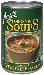 Amy's Organic Vegetable Barley Soup 14.1 Oz [Pack of 6] by Amy's Organic