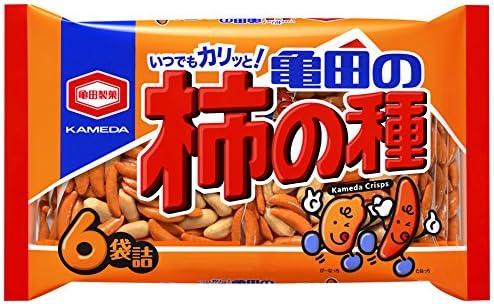 Amazon | 亀田製菓 亀田の柿の種6袋詰 200g×12袋 | 亀田製菓 | せんべい・米菓 通販